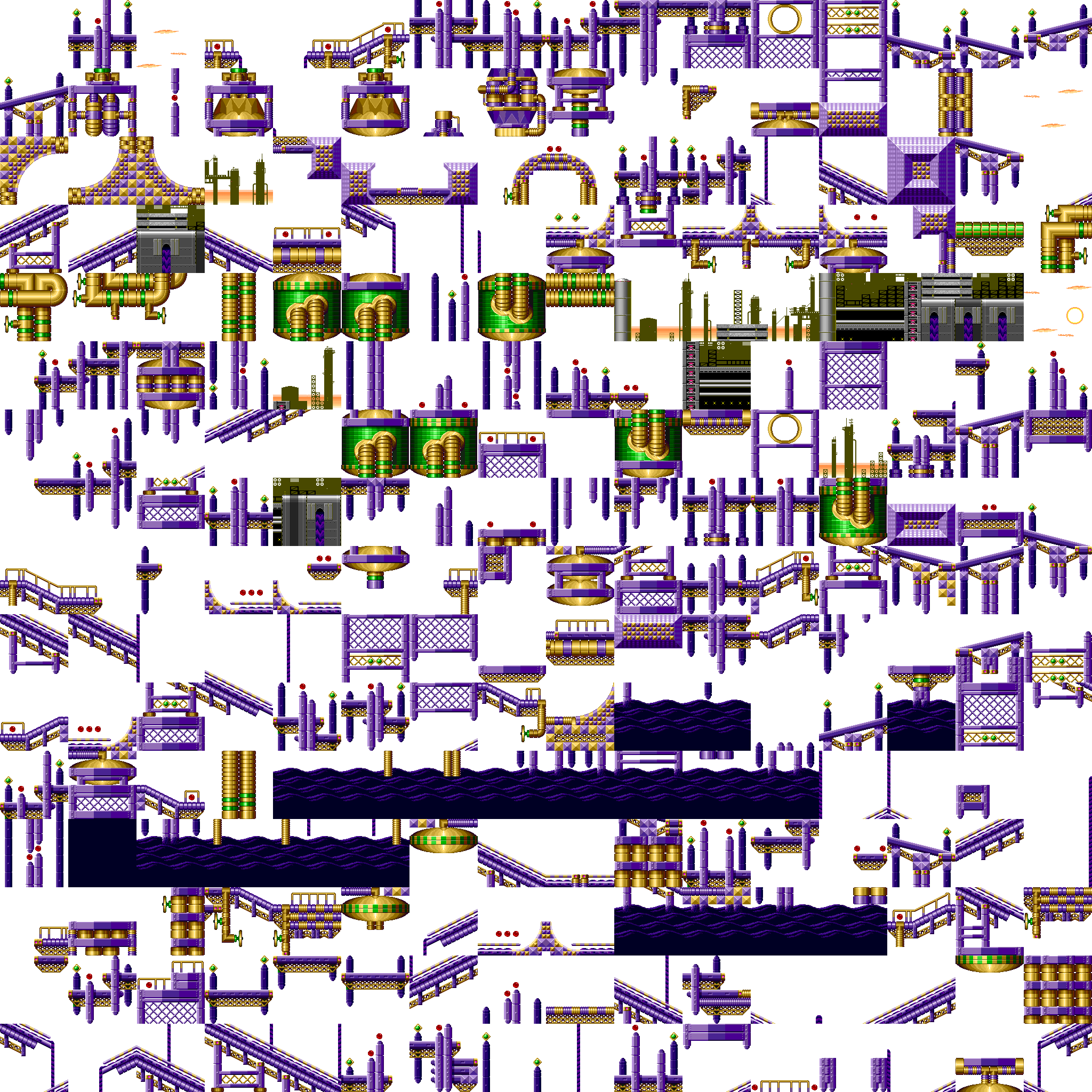 Sonic2 MD Map OOZ chunks.png