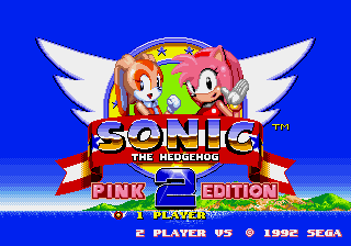 Sonic2 PinkEdition V10 Title.png