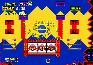 Sonic 2 Slot Machine Sprites