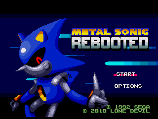 Metal Sonic Rebooted - Sonic Retro