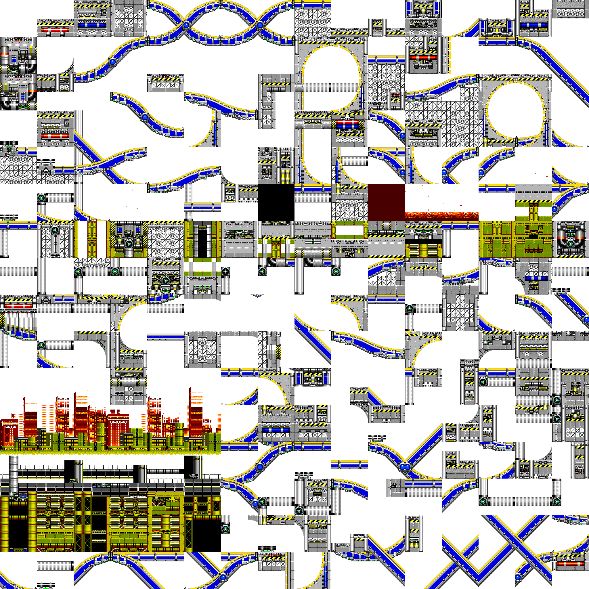 Sonic2 MD Map CPZ chunks.png