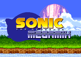 Sonic the hedgehog megamix sonic retro