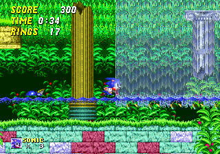 Aquatic Ruin Zone Sonic Retro