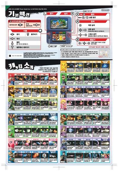 File:SSB 3DS KR digital manual moves.pdf - Sonic Retro