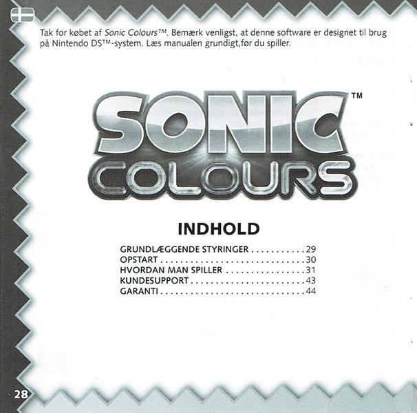 File:Colours DS EU Manual pdf - Sonic Retro