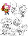 Sonic Mega Drive Amy sketches.jpg
