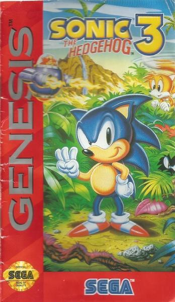 File:Sonic3 MD US manual.pdf - Sonic Retro