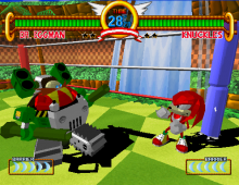 Unused form of Eggman in battle