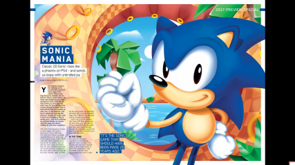 Sonic Mania Playstation Official Magazine Part 01.jpg