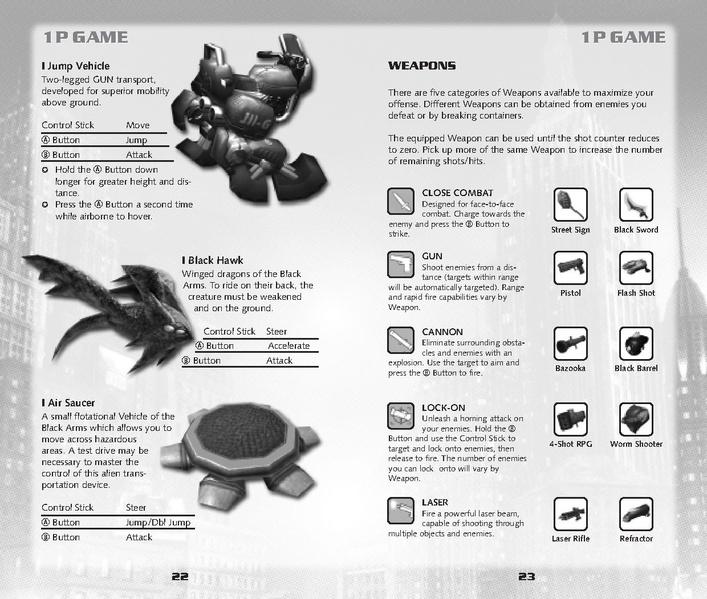 File:Shadow GC US digitalmanual.pdf - Sonic Retro