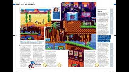 Sonic Mania Playstation Official Magazine Part 02.jpg