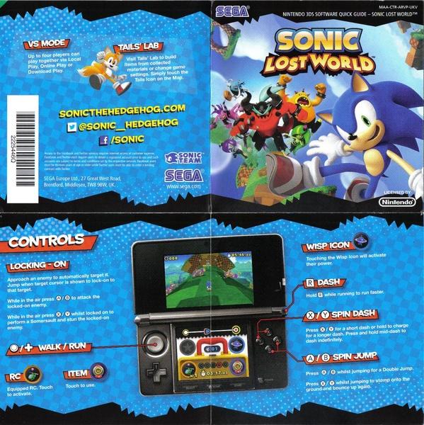 File:sonic-generations-3ds-us-manual. Pdf sonic retro.