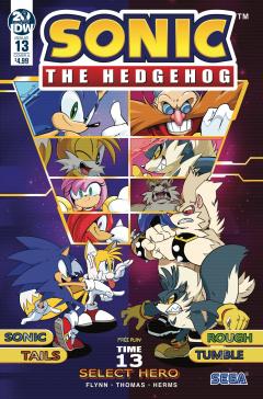 Sonic The Hedgehog 013 Idw Sonic Retro