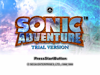 SonicAdventure TrialVersionTitle.png