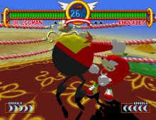 Big Eggman in battle