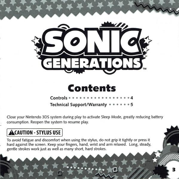 File:slw 3ds uk manual. Pdf sonic retro.