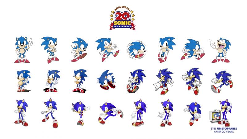 File 20th Wallpaper Png Sonic Retro