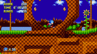 Green Hill Zone Sonic Mania Sonic Retro